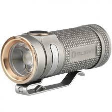 <b>Фонарь Olight S Mini</b> Ti Bead Blasted Серый - купить в интернет ...
