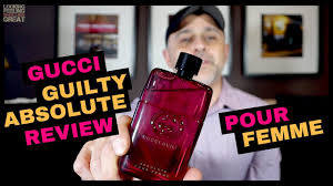 <b>Gucci Guilty Absolute Pour</b> Femme Review + USA Samples Giveaway
