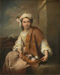 The <b>Flower Girl</b> - Murillo, Bartolomé Estéban — Google Arts & Culture