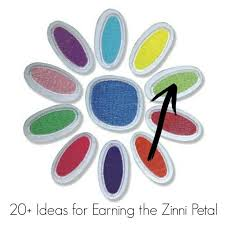 20+ Daisy Girl Scout Zinni Petal Ideas (Considerate and Caring <b>Patch</b>)