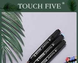 <b>TouchFIVE 30/40/60/80</b>/168 <b>Color</b> Art Markers Set Dual Headed ...