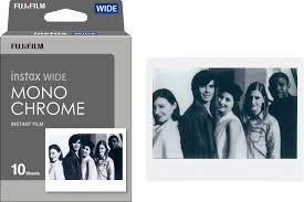 <b>Fujifilm</b> instax WIDE Monochrome Film (<b>10 Sheets</b>) 16564101 - Best ...