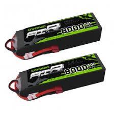 <b>Ovonic</b> 50C 11.1V 3S <b>8000mAh</b> Lipo Battery with Deans Plug [<b>2</b>-<b>Pack</b>]