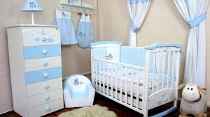 image of awesome nursery curtain material blue nursery furniture