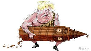 Boris Johnson's Britain is a test case for <b>strongman</b> politics ...