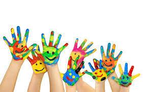Risultati immagini per mani bambini dipinti