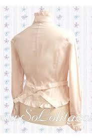 Lolita <b>Sweet Pink Bowtie</b> Long Sleeves Cotton Blouse,Cheap Lolita ...