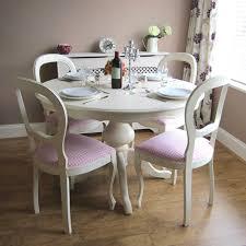 cream dining set