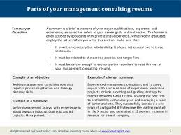 management consulting resume sample 6 7 parts of your management consulting resume