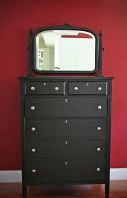 bedroom furniture ideas with black color wooden dresser and two small drawers also bedroom vanity black painted bedroom furniture