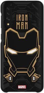 Купить Клип-кейс <b>Samsung Galaxy Friends</b> Marvel A50 Железный ...