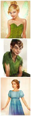 best ideas about peter pan cartoon peter pan peter pan as real life characters by jirka vaumlaumltaumlinen design tinkerbell peter pan