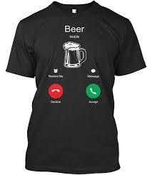 Beer Is Calling Beer Funny <b>T</b>-<b>Shirt</b> For <b>Men Women</b> in 2020   Shirt ...