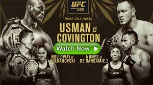 UFC 245 Live Streaming Reddit Online Free | The Sports Daily