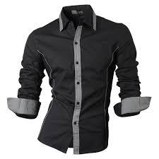 <b>2019 Spring Autumn</b> Features Shirts <b>Men Casual</b> Jeans Shirt New ...