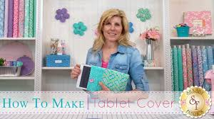 How to make a <b>Tablet</b> Cover | with Jennifer Bosworth of Shabby ...