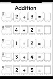 kg / FREE Printable Worksheets – Worksheetfun / Page 2Beginner Addition – 5 Worksheets