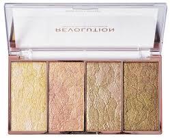 <b>Палетка</b> хайлайтеров Makeup Revolution <b>Vintage</b> Lace ...