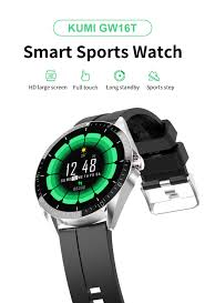 Xaomi <b>KUMI Smart</b> Watch <b>GW16T</b> Sport Heart Rate Sleep Monitor ...