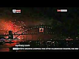 New years in australia countdown