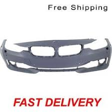 Primed Front Bumper Cover W/O HLW <b>Hole</b> With <b>Sensor Hole</b> Fits ...