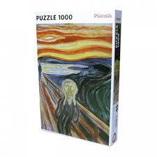 <b>Пазл Эдвард</b> Мунк Крик (1000 деталей) <b>Piatnik</b> — купить в ...