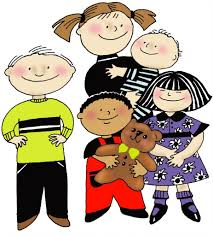 single parent four kids clipart clipartfest parents clip art clipart