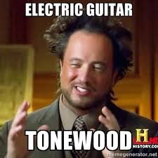 electric guitar tonewood - national geographic man | Meme Generator via Relatably.com