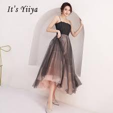 2019 <b>It'S Yiiya Prom Dress</b> Sling Boat Neck Women Party Night ...