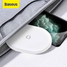 <b>Baseus</b> 10W <b>3 Coils Wireless</b> Charger For iPhone X/XS/XR Max 8 8 ...