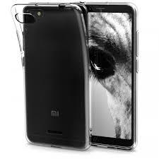 Xiaomi Redmi 6/6A <b>Бампер силиконовый</b> прозрачный <b>NEW</b>