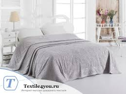 <b>Простынь махровая KARNA ESRA</b> 200x220 Стоне | Textile for You
