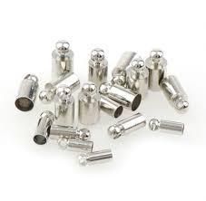 50pcs Smooth <b>Plain</b> Tassel Caps Beads End Caps Cone Craft DIY ...