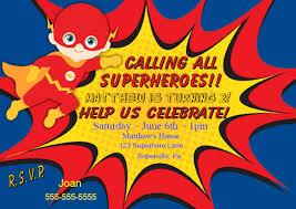 superhero invitation flash invitation flash party invitation flash superhero birthday party invitation boy personalize for you