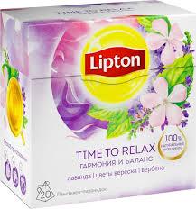 Купить напиток <b>Lipton</b> Time to Relax травяной <b>лаванда</b>-вербена ...