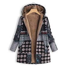 Buy XuBa Women Zipper <b>Long</b>-<b>Sleeved Large Size</b> Thickening ...