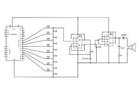 arduino audio output all on digital output schematic