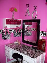 fashionable hot pink bedrooms hot black white zebra bedrooms