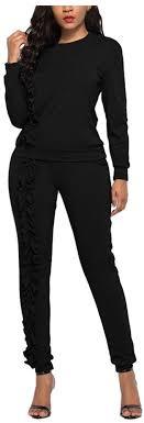 Women's <b>Autumn Winter Casual</b> Sports Set Sweatsuit Tracksuit ...