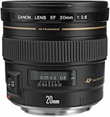 Canon EF 20mm f/2.8 USM Wide-Angle Fixed Lens ... - Amazon.com