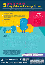 COVID-19 Parenting - <b>Keep calm and</b> manage stress
