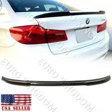 For 17-19 BMW 5-Series <b>G30</b> / <b>M5</b> F90 Carbon Fiber CS Style <b>Rear</b> ...