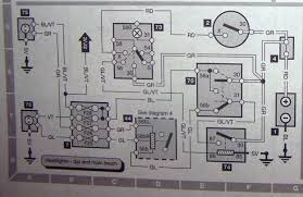relating wiring diagram to head light relay saabcentral forums the diagram shows contact 87 on this relay but the actually relay stock by the way does not have a contact 87