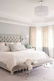 feminine bedroom furniture bed: elegant and chic is the best description for this master bedroom adding a gorgeous chandelier to your master bedroom is a simple way to modernize your