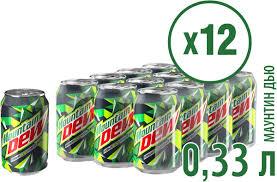 "<b>Газированный напиток Mountain</b> Dew ""Цитрус"", 12 шт по 330 мл ..."
