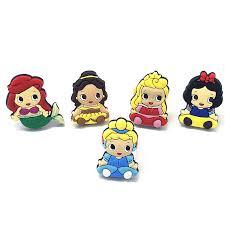 New <b>5Pcs</b> Baby Girls <b>Cute Cartoon</b> Princess Mermaid Snow White ...