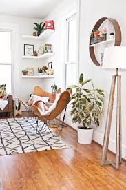 design ideas betty marketing paris themed living: floating corner shelves butterfly chairs tripod lamp abm living room makeover