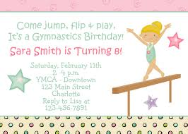 gymnastics party invitations printable grand com outstanding graduation party invitations printable about awesome article