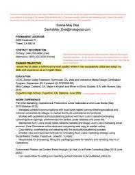 does like look resume make resume format