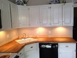 corner sinks design showcase: stick a fork in them the ikea butcher block counters are done